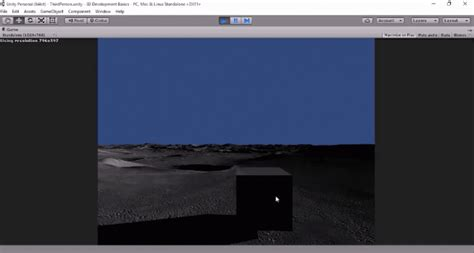 unity tutorial first game unity 3d first and third person view tutorial gamedev