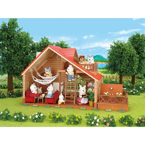 calico critters doll house calico critters lakeside lodge dollhouse educational