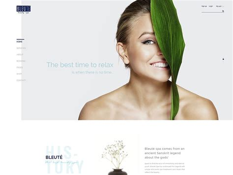 Best Resume Builder Websites by 45 Best Spa Beauty Amp Hair Salon Wordpress Themes 2018