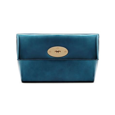 Mirror Clutch Bag by Mulberry Mirror Metallic Leather Bags Collection For Fall
