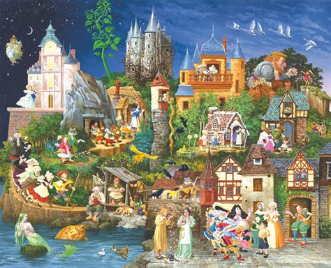 the fairy tales of fairy tales puzzle by james christensen