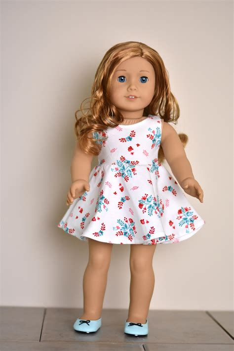 18 inch doll clothes dress 18 inch doll clothes doll clothing american made doll