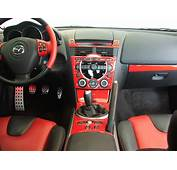 Red Dash Kit Installed With Black/red Stock Interior