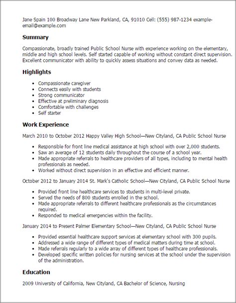 Resume Format For Nursing Students by School Resume Template Best Design Tips