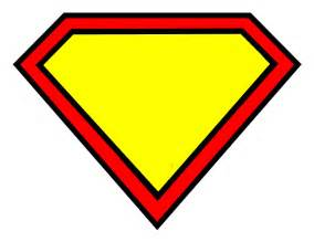Superman Logo Template by Blank Superman Logo Template Clipart Best