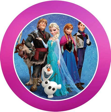 Printable Frozen Images | frozen free printable kit with fucsia border oh my