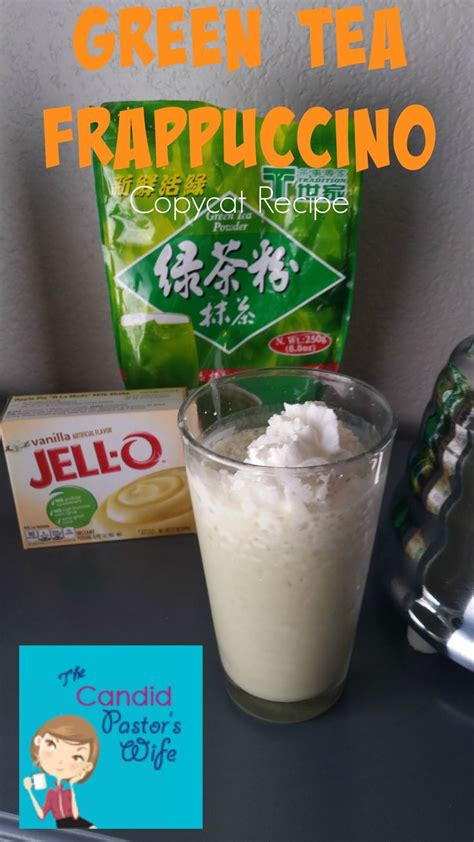 Detox Teas At Starbucks by Copycat Green Tea Frappuccino Recipe Starbucks