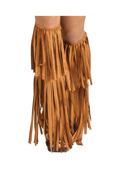 Boots Cover S 60s fringe boot covers shoes