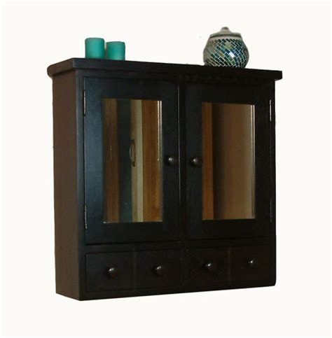 dark wood bathroom mirror nara dark wood bathroom furniture wall cabinet mirror ebay
