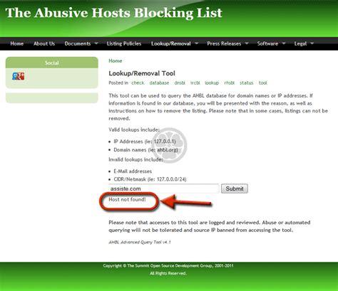 Ip Address Reputation Lookup Blacklist Recherche Dans Les Listes Noires Blacklist