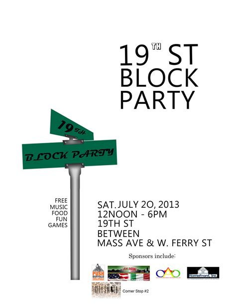 block flyer template 19th st block flyer the neighborhood