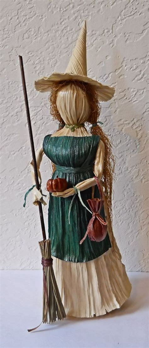 corn husk witch dolls 112 best quot quot witches images on