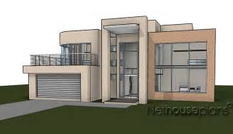 floor plan 4 bedroom modern style house plan