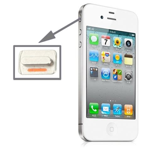 Switch On Iphone 4 high quality mute switch button key for iphone 4s alex nld