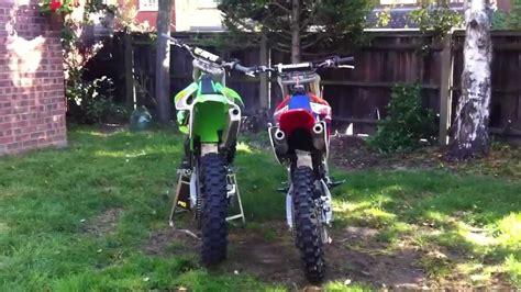 best 2 stroke motocross bike what sounds best 2 stroke or 4 stroke motocross bikes