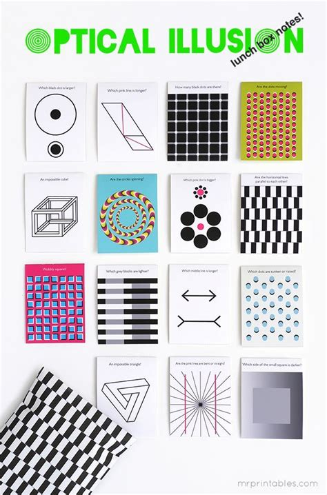 printable optical illusions 421 best images about mr printables on pinterest finger