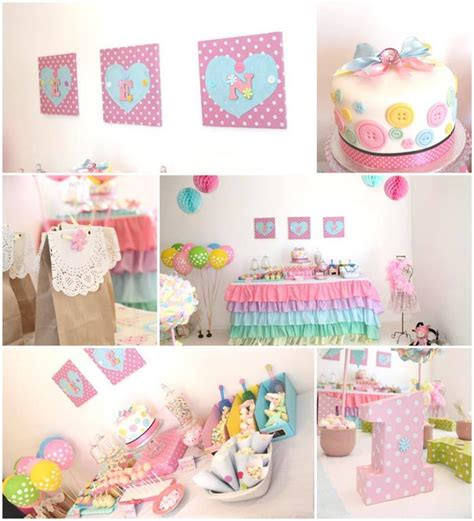cute themes for birthday parties cute as a button 1st birthday party with so many darling