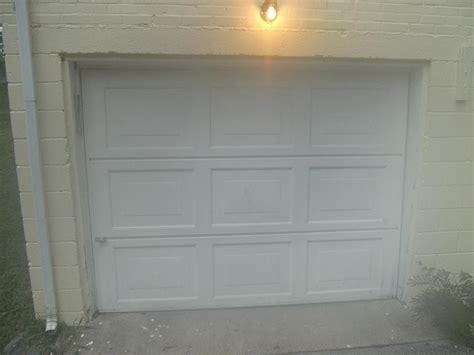 closing   garage door opening building