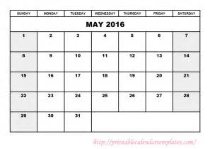 calendar templates to print calendar template 2016