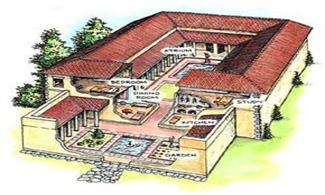 Ancient Roman Food Ancient Roman Houses Roman Style House