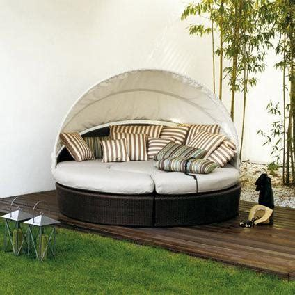 outdoor sofa with canopy arena circular sofa with canopy by varaschin lounging