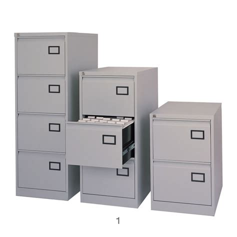 Modern File Cabinets Home Office by Modern Office With Light Grey Metal Filing Cabinets 4