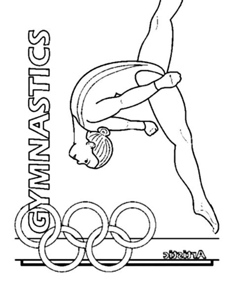 gymnastics coloring pages free printable get this printable gymnastics coloring pages p79hb