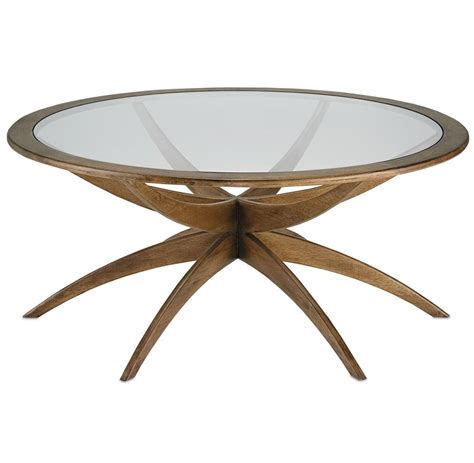 Weathered Coffee Table Henry Mid Century Modern Weathered Walnut Coffee Table 42 Inch Kathy Kuo Home