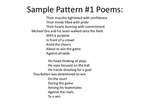 year 1 poems with pattern and rhyme bellringers 2013 14 2nd 9 weeks