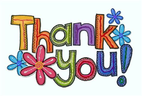 free clipart thank you clipartfest free thank you