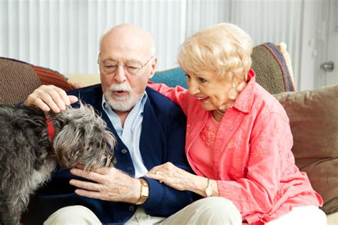 senior living insurance benefits of pets for elderly