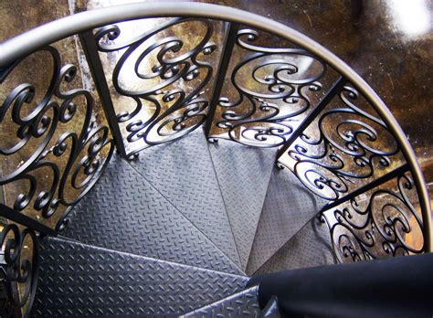 black wrought iron ls black carving wrought iron spiral staircase with black