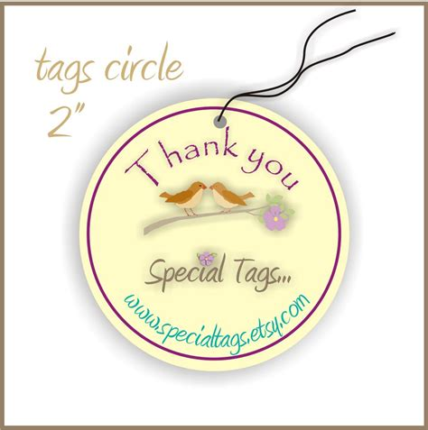60 printable cardstock square hang tags with holes 2 x 2 100 custom hang tags 2inch circle personalized