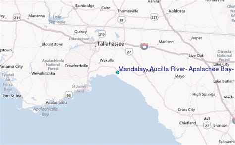 mandalay aucilla river apalachee bay florida tide station location guide