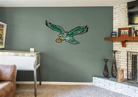 Philadelphia Eagles Home Decor Philadelphia Eagles Classic Logo Wall Decal Shop Fathead 174 For Philadelphia Eagles Decor