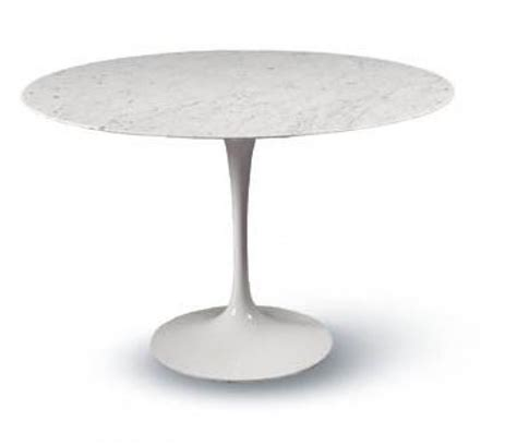 Sarineen Table Saarinen Tulip Table Carrara Bauhaus Italy