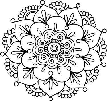 imagenes de mandalas bordados mandala pattern dibujo mandala flor de loto para estar