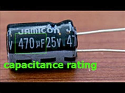 capacitor polarity battery capacitor replacement tutorial