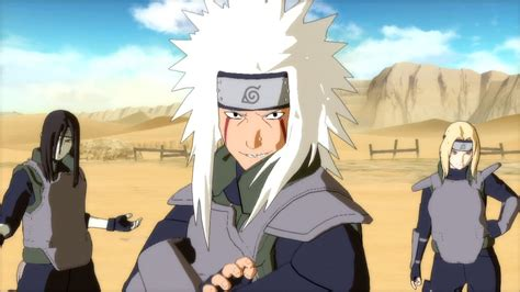 Kaos 3 Legend Sanin Orochimaru Jiraiya Tsunade ultimate 3 legendary sannin jiraiya vs hanzo road to dlc