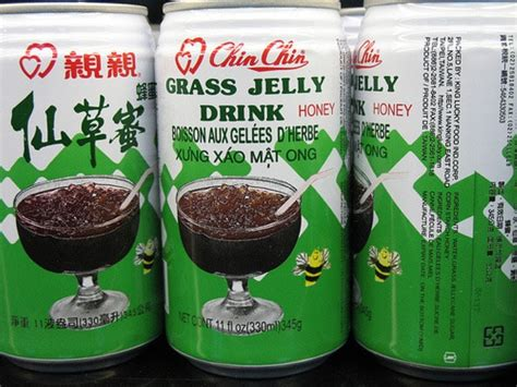 Naraya Grass Jelly Drink 20 canned foods that will make you retch boredombash