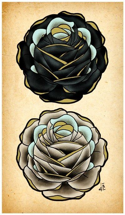 white and black rose tattoos black and white designs best designs