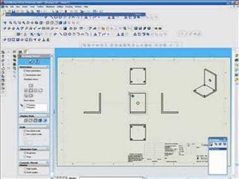 solidworks tutorial how to create a bracket in sheet metal solidworks tutorials create a bracket and deleteing