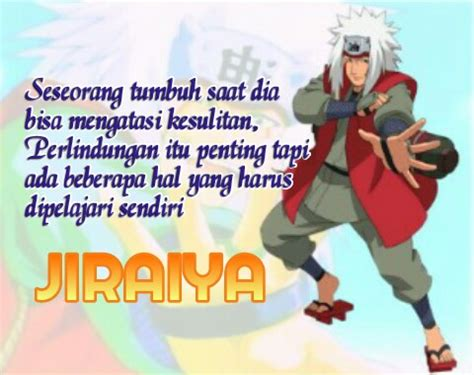 gambar kata kata jiraiya  anime naruto yudanesia