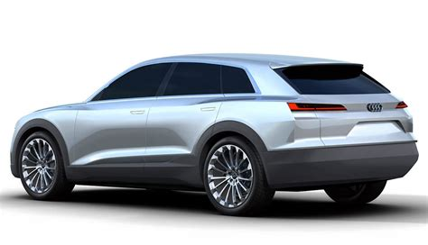 new audi q6 electric suv concept leaked images