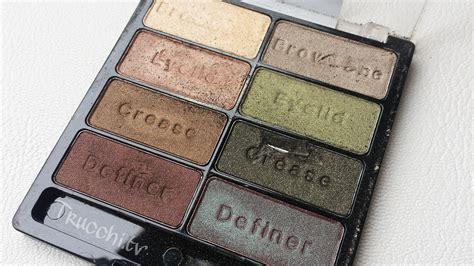 comfort zone palette review eyeshadow palette wet n wild comfort zone trucchi tv