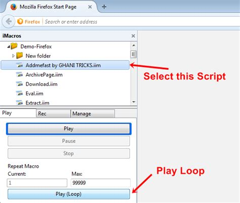 imacros mozilla tutorial how to get unlimited likes on facebook free trick 2015