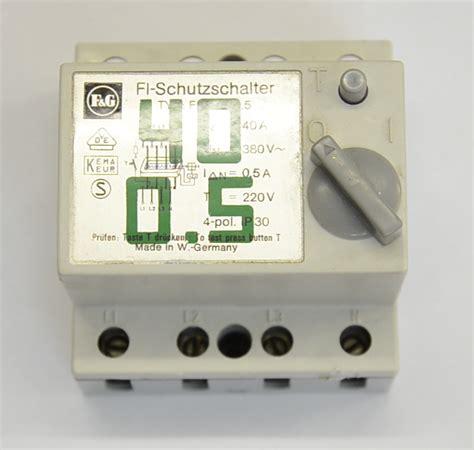 Karet Der 250 Fi fi schutzschalter funktion aufbau der elektriker
