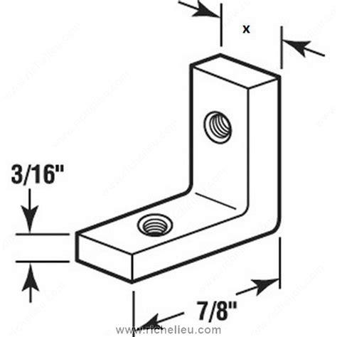 Glass Shower Door Hardware Parts Shower Door Corner Bracket Richelieu Hardware