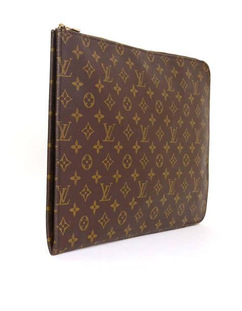 Clutch L Is Vuitton louis vuitton monogram portfolio clutch at 1stdibs