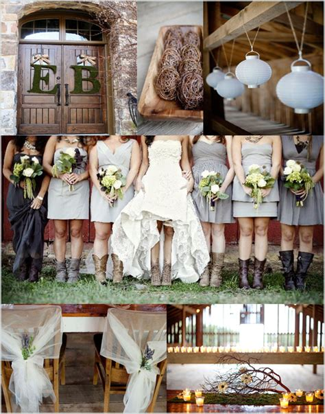 country wedding inspiration board afloral wedding